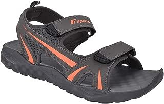 Fsports Ben Series D.Grey Orange Casual Sandal for Men