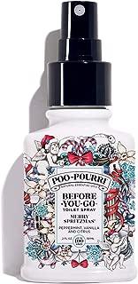 Poo-Pourri Before-You-Go Toilet Spray, Merry Spritzmas Scent, 2 oz
