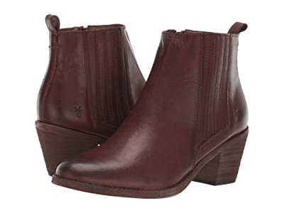Frye Alton Chelsea (Cognac Washed Veg Tan) Women