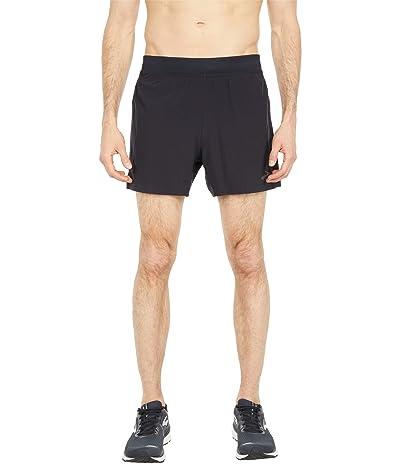 Brooks Sherpa 5 Shorts (Black) Men