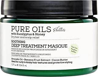 Silk Elements Eucalyptus & Honey Dry Hair & Scalp Relief Deep Treatment Masque