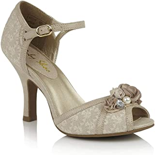 Ruby Shoo 09259 Clarissa Cream/Gold