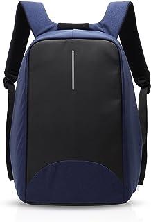 Mochila Escolar,Unisexo Mochila, Mochila Antirrobo Impermeable,15.6 Pulgadas Puerto USB, para Viajes, Deporte, Negocios Multifuncional Daypacks Azul