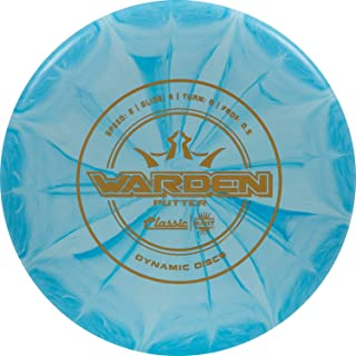 Dynamic Discs Classic Burst Warden Disc Golf Putter | Smooth Release and Neutral Flight Golf Disc | Beadless Frisbee Golf Putter | Stamp Color Will Vary