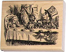 alice in wonderland rubber stamp set