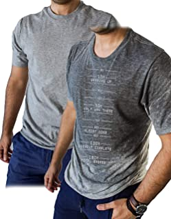 Sweat Activated Motivational T Shirt with Workout Progress Meter You Can Go Home When Reaching 100% Great Gym Gift