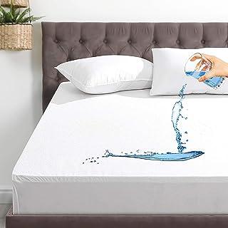 Queen Mattress Protector Waterproof Bed Protectors Mattress Pad Cover with Deep Pocket