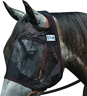 Cashel Quiet Ride Horse Fly Mask, Standard