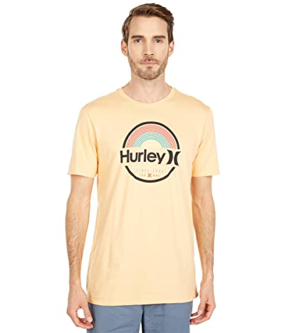 Hurley Arches Short Sleeve (Orange Chalk) Men