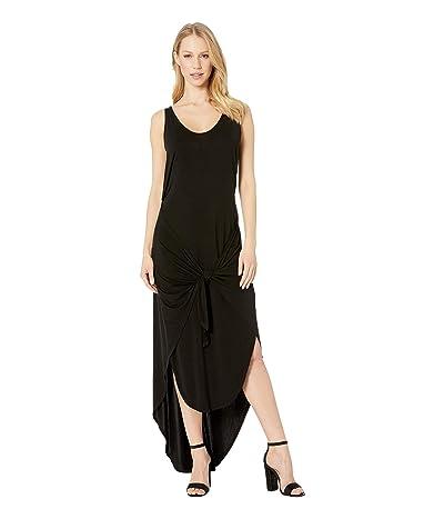Young Fabulous & Broke Renata Dress (Black Solid) Women