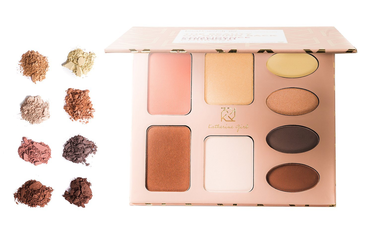 Katherine Cosmetics - Giving Palettes strength Back warm At the price Industry No. 1