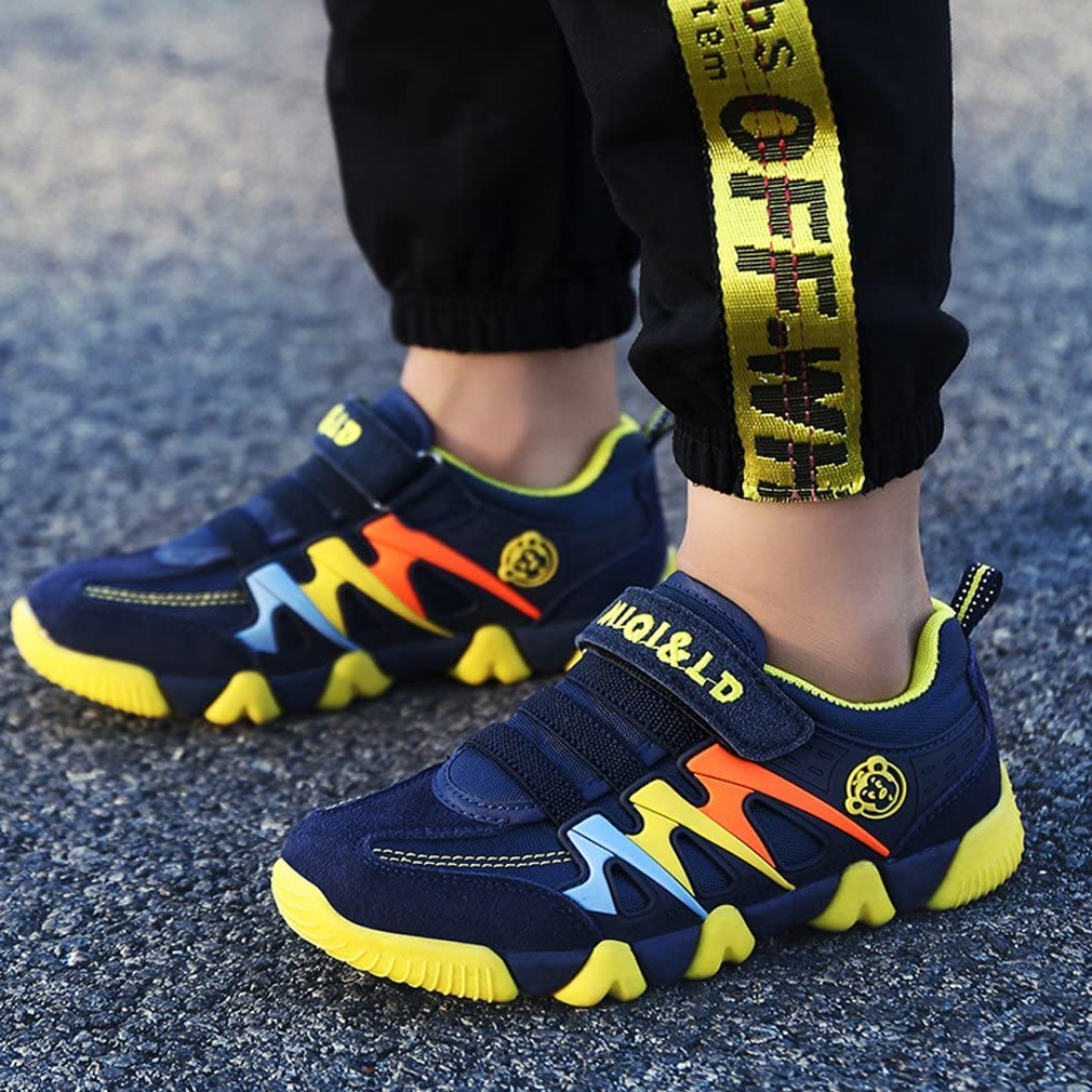 Boys Girls Trainers Kids Sports Running Shoes Breathable Lightweight Sneakers Casual Walking Shoes Outdoor Toddler//Little Kid//Big Kid
