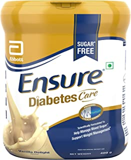 6 Cans of Glucerna SR 400gm / 14.11 oz vanilla flavour Complete And Balanced Meal Replacement And/Or Snack Specifically and scientifically designed for people with diabetes. Comparable to Glucerna SR triple care.