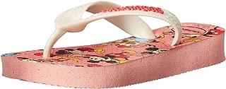 Havaianas Kid's Disney Stylish Flip Flop Sandal, Light Pink, 2 M US Little Kid