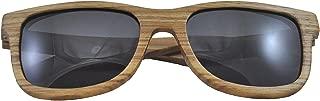 Zebra Wood Sunglasses, Wooden Sun Glasses for Men and Women, Trendy Unisex Shades