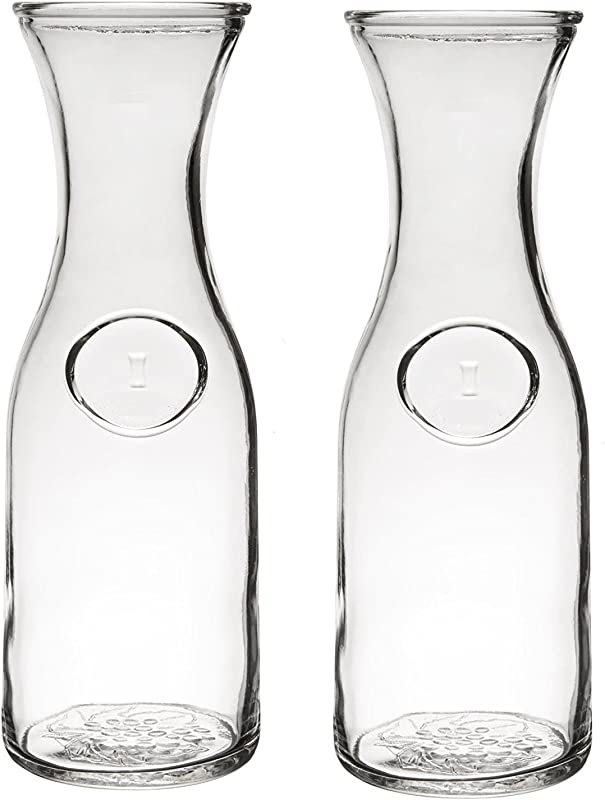 Glass Water Or Wine Carafe 1 Liter 2