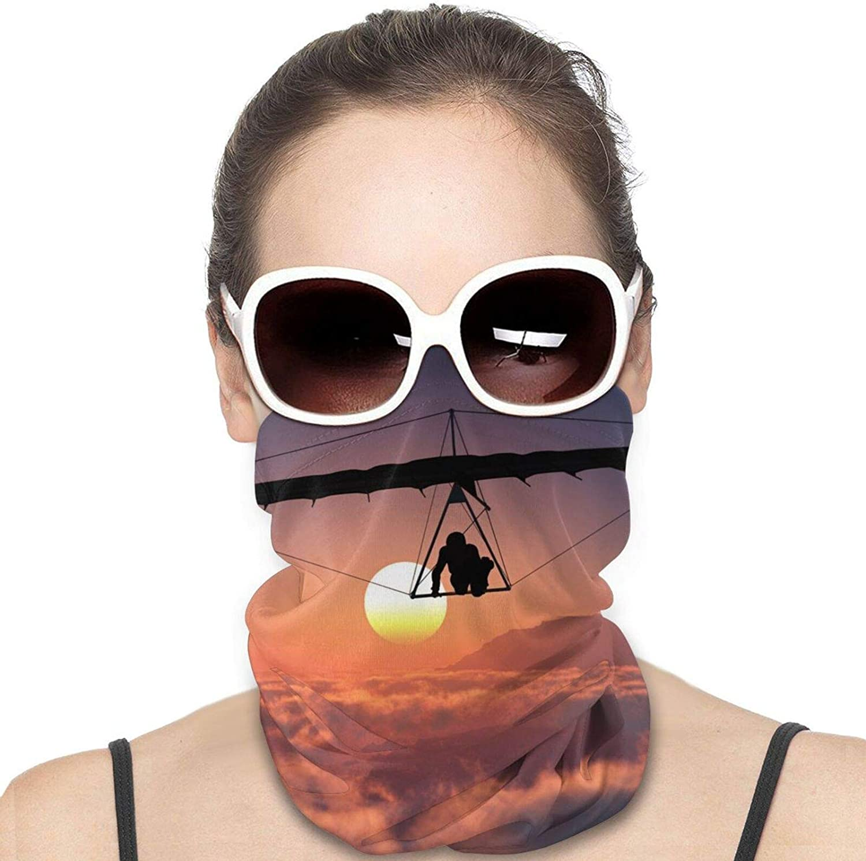 Hang Glider Neck Gaiter Windproof Face Cover Balaclava Outdoors Magic Scarf Headband for Men Women Motorcycling Fishing Running Climbing