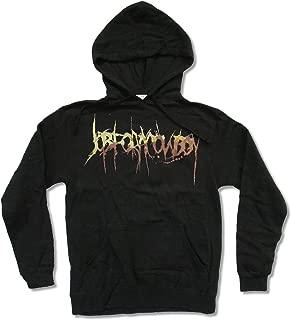 APX Job for A Cowboy Brown Logo Black Pullover Hoodie Sweatshirt