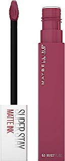 Maybelline SuperStay Matte Ink Liquid Lipstick, Long-Lasting Matte Finish, Highly Pigmented Color, Savant, 0.17 Fl. Oz