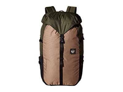 Herschel Supply Co. Barlow Large (Dark Olive Multi) Backpack Bags