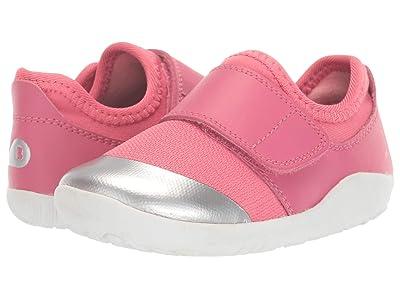 Bobux Kids I-Walk Dimension II (Toddler) (Fuchsia/Silver) Girl