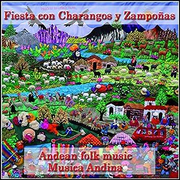 Fiesta Con Charangos y Zampoñas: Andean Folk Music: Musica Andina