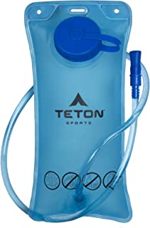 Teton Sports Hydration Bladder; BPA Free Water Reservoir; Easy to Refill and Clean