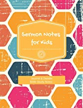 Sermon Notes for Kids: Journal and Doodle Bible Study Notes 5