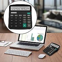 $54 » Cute Mini Calculator Calculator Case Calculator Scientific ti Home Office 12 Digits Display Handheld Desk Desktop Calculat...