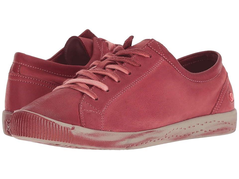 FLY LONDON ISLA154SOF (Scarlet Washed Leather) Women
