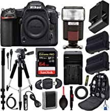 """$1496 Get Nikon D500 DSLR Camera (Body Only #1559) with 15pc Deluxe-Bundle: Includes – SanDisk 64gb Extreme Pro Memory Card, 57"""" Professional Tripod, 72"""" Monopod, Pro Backpack for DSLR Camera, and More"""