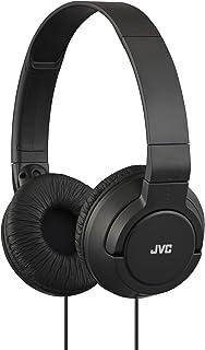 JVC HAS180 Lightweight Powerful Bass Headphones - Black
