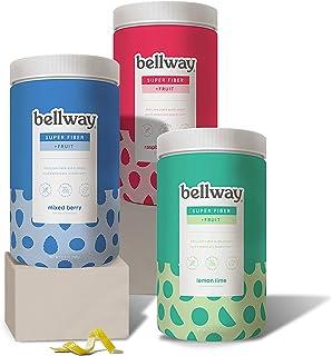 Bellway Sugar-Free Psyllium Husk Fiber Supplement, 13.8 oz, 3-Pack
