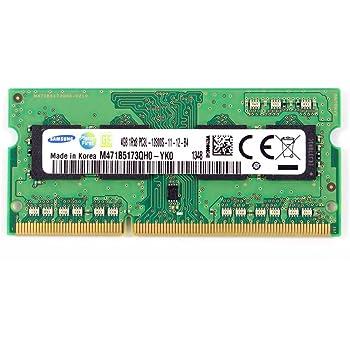 Samsung(サムスン) ノートパソコン用DDR3低電圧メモリー 4GB 1rx8pc3l-12800s-11-13-b4 [ M471B5173QH0-YK0 ]