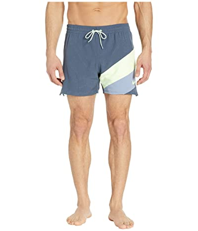 Nike 5 Optic Camo Mesh Signal Volley Shorts (Monsoon Blue) Men