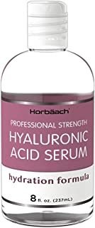 Hyaluronic Acid Serum for Face & Skin | 8 oz | Paraben & SLS Free Moisturizer | By Horbaach