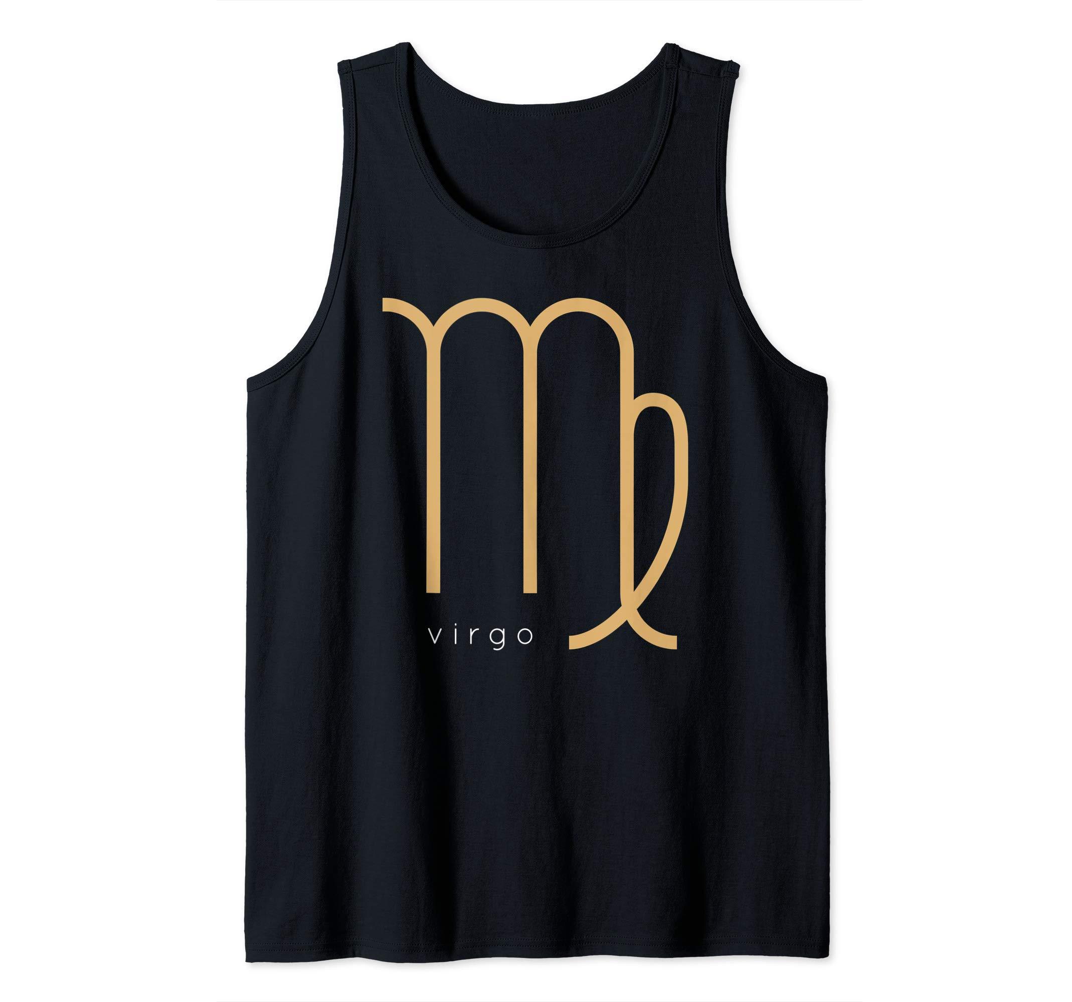 Virgo Horoscope Sign Mens Tank Top Shirt