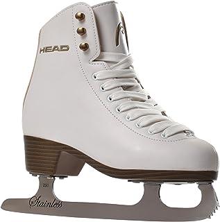 HEAD Konståkning skridskor Donna med rostfritt stål I perfekt för nybörjare – vit