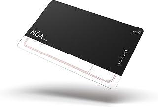 Bloqueador de tarjetas RFID/NFC con emisor de interferencias integrado, protege tus tarjetas de robo de datos. Tamaño de l...