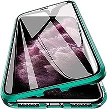 جراب مغناطيسي لهاتف iPhone 11 مقاس 6.1 بوصة، غطاء قلاب صلب 360 درجة مضاد للصدمات مغناطيسي مقاوم للصدمات