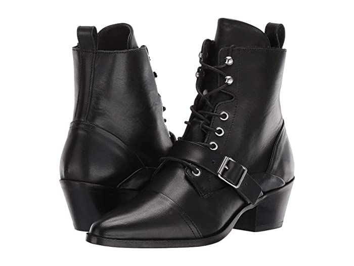 AllSaints  Katy Boot (Black Leather) Womens Boots