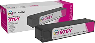 LD Remanufactured Ink Cartridge Replacement for HP 976Y L0R06A Extra High Yield (Magenta)