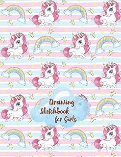 Drawing Sketchbook for Girls: Sketch Pad Kids |Drawing Pads for Kids 9-12|Painting Sketch Book|Artistic Sketchbook|Drawing...