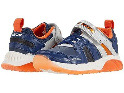 Geox Kids Spaziale 1 (Toddler/Little Kid) (Navy/Orange) Boy