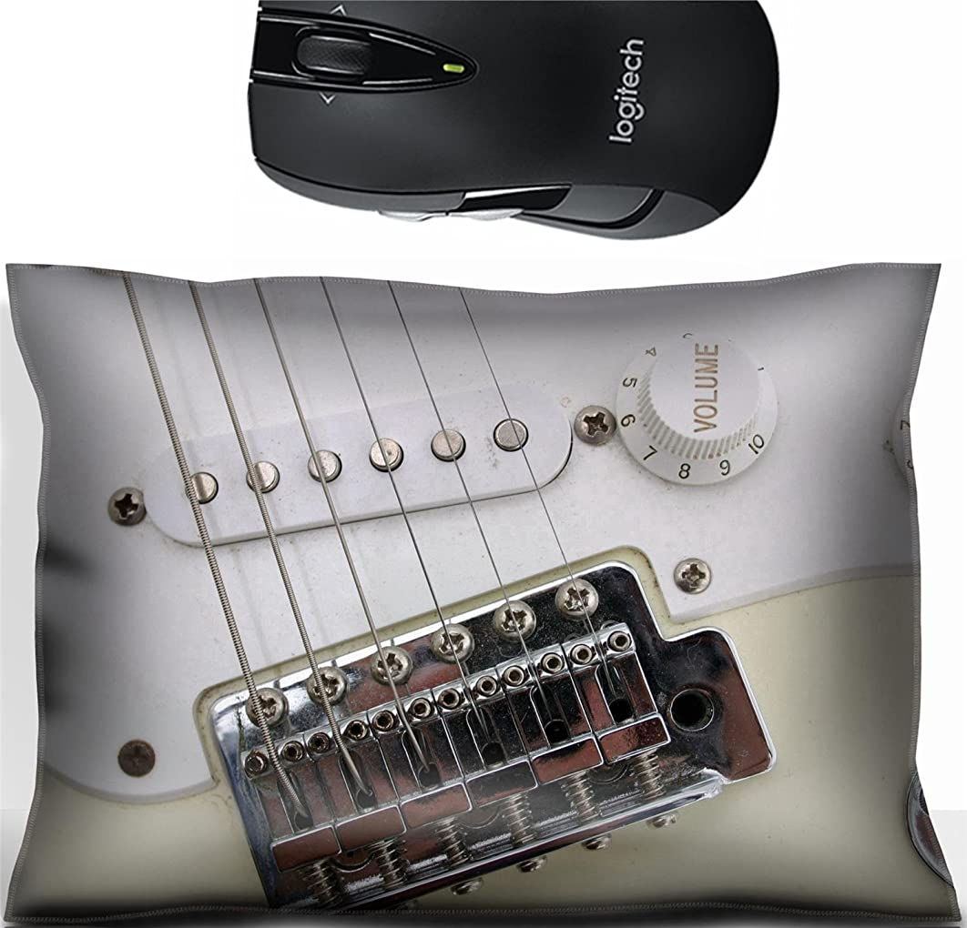 Liili Mouse Wrist Rest Office Decor Wrist Supporter Pillow Electric guitar closeup white volume knob Photo 520545