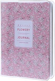 ZHENXI Cute Memo Diary Notepad Notebook - Daily Monthly Weekly Planner Agenda Calendar Gift