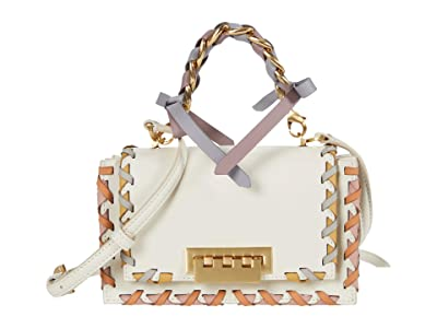 ZAC Zac Posen Earthette Top-Handle Shoulder Rainbow Lacing (Swan) Handbags