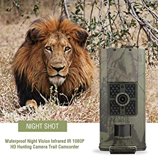 Image of Qinlorgo 【???????????????????????????????????? ????????????????????】 Trail Camera, 16MP 1080P HD Wildlife Camera Waterproof Infrared Night Vision Hunting Video Camera