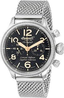 Ingersoll(インガーソル) 腕時計 Wells Fargo III 手巻き メンズ IN4610BKMB [並行輸入品]