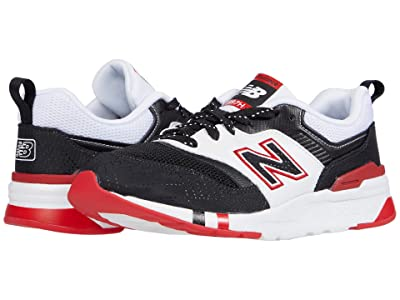 New Balance Kids 997H (Big Kid) (Black/Team Red) Boys Shoes